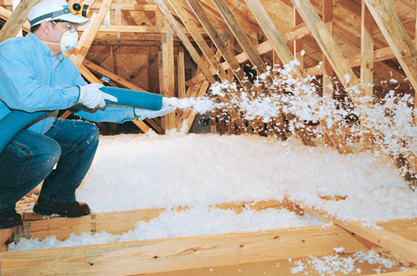 Blown In Attic Insulation Arcammroofing